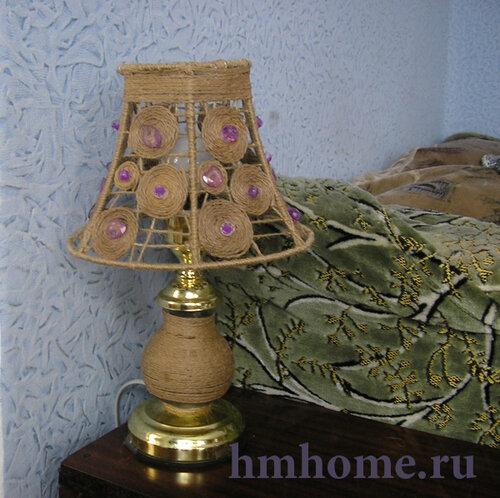 Новая жизнь старой прикроватной лампы
