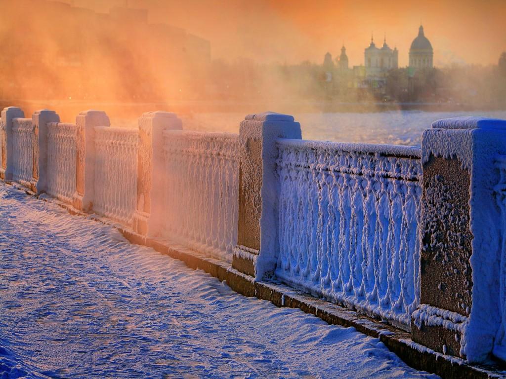 Утра у нас в московском регионе зима