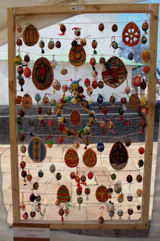 Пасхальное творчество мастеров Оболонского района Киева