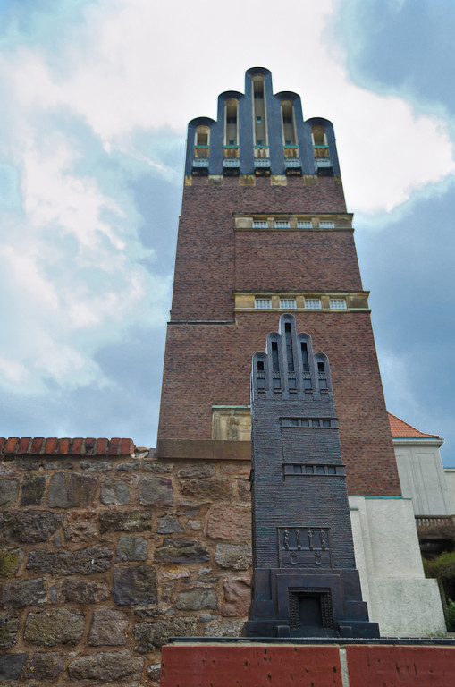 10. Свадебная башня в городе Дармштадт. Съемка архитектуры на зеркалку Nikon D5100 KIT 18-55mm f/3.5-5.6