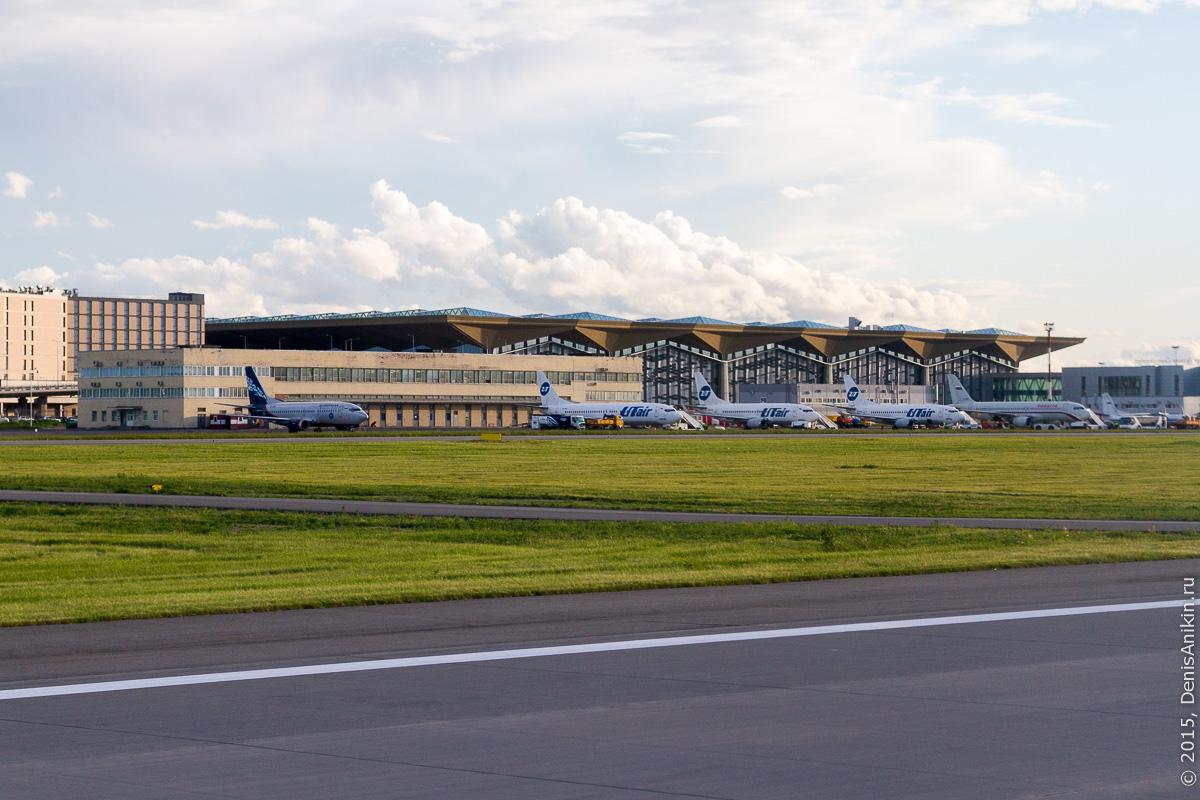Полёт Саратов - Санкт-Петербург 34