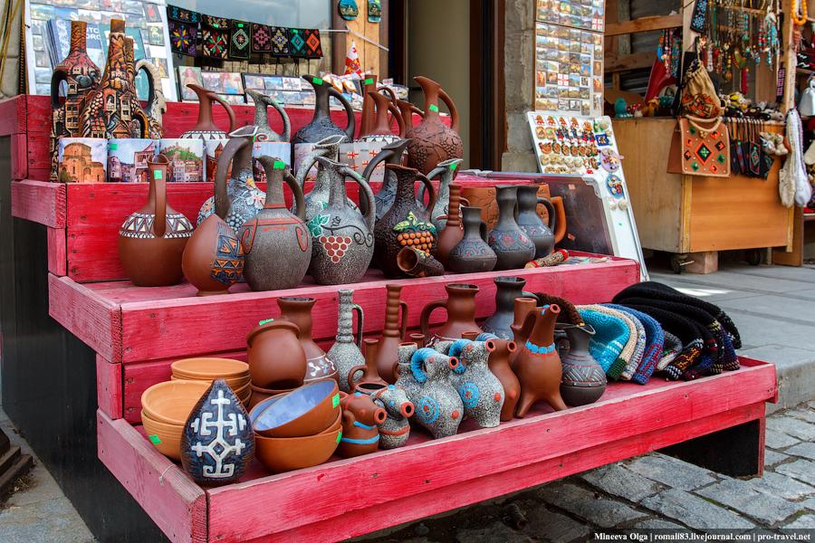 сувениры в Грузии