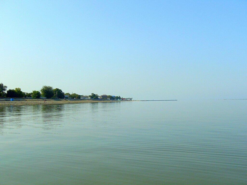 Поход на вёслах, сентябрь 2008, на лодке, море Азовское