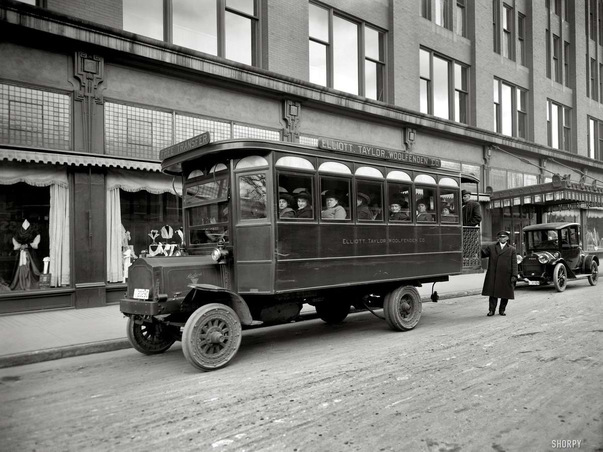 Специализированные транспортные средства начала 20-го века на снимках американских фотографов (14)