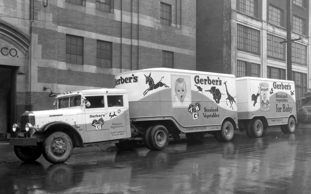 Специализированные транспортные средства начала 20-го века на снимках американских фотографов (60)