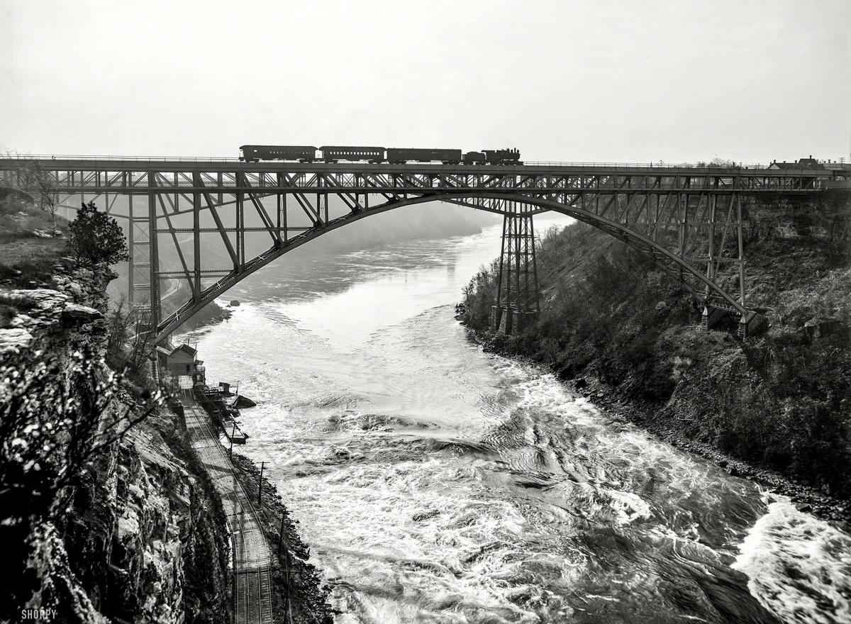 Железные дороги конца 19-го - начала 20-го века на снимках американских фотографов (24)