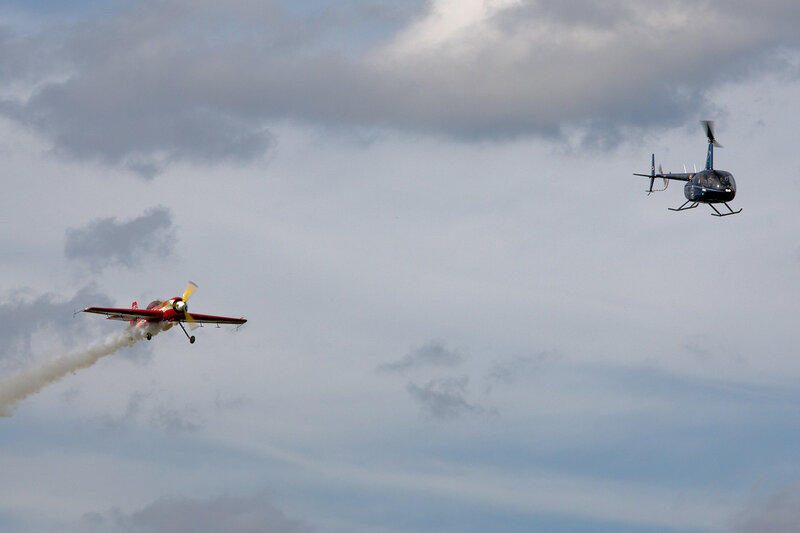 Су-31 и R44