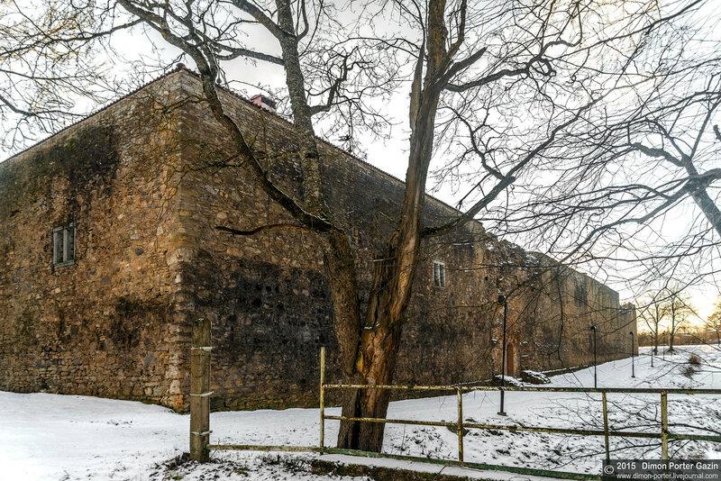 Эстония, Пылтсамаа, замок Оберпален