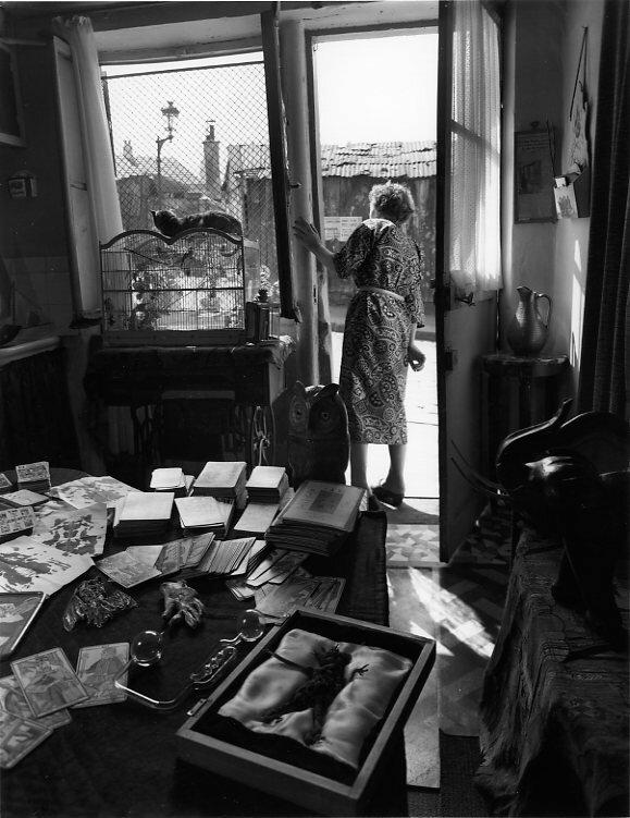 1953. Кабинет мадам Райды с улицы Вилин