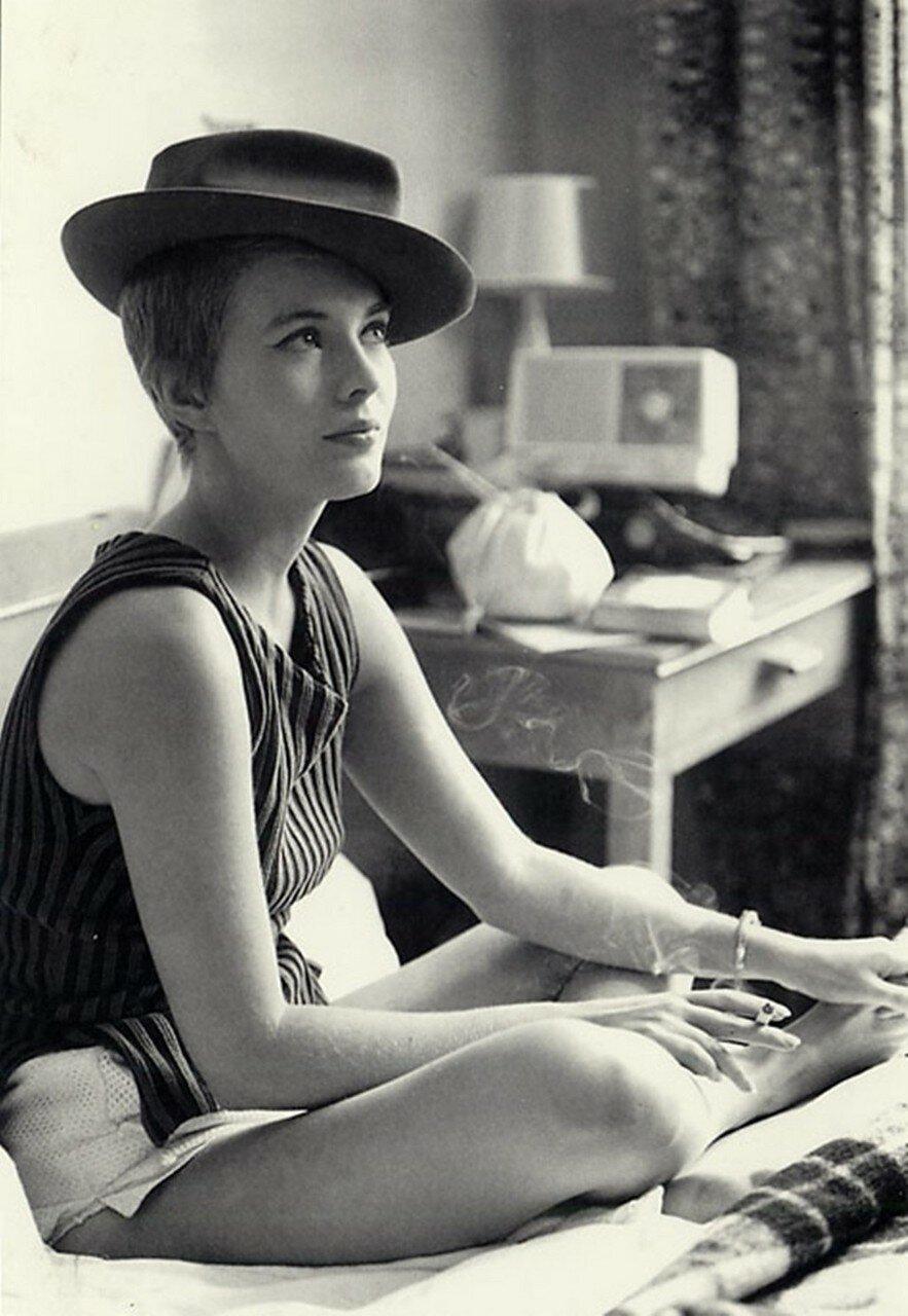 1960. Джин Сиберг