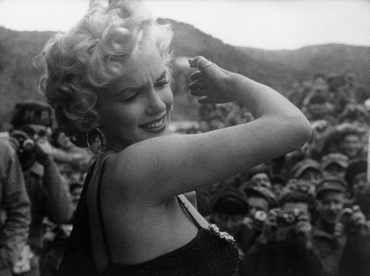 Marilyn Monroe Entertaining the Troops
