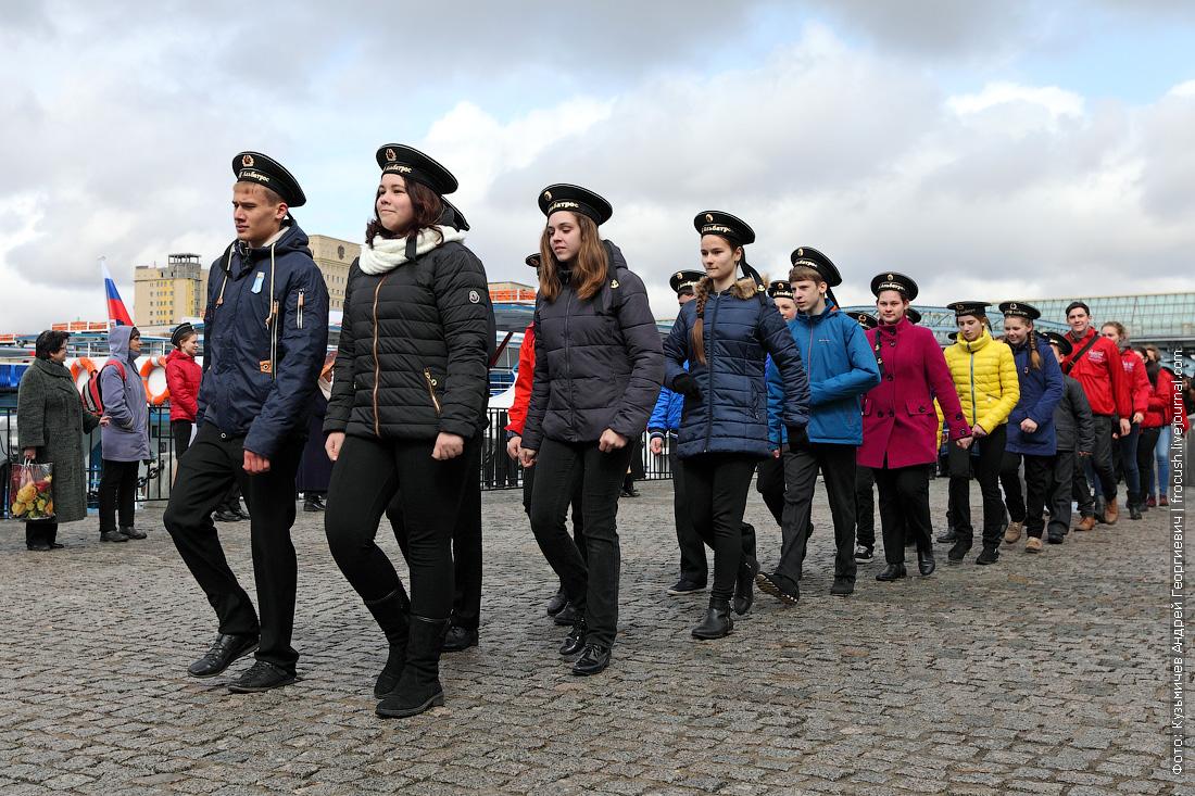 открытие малой навигации на Москве-реке