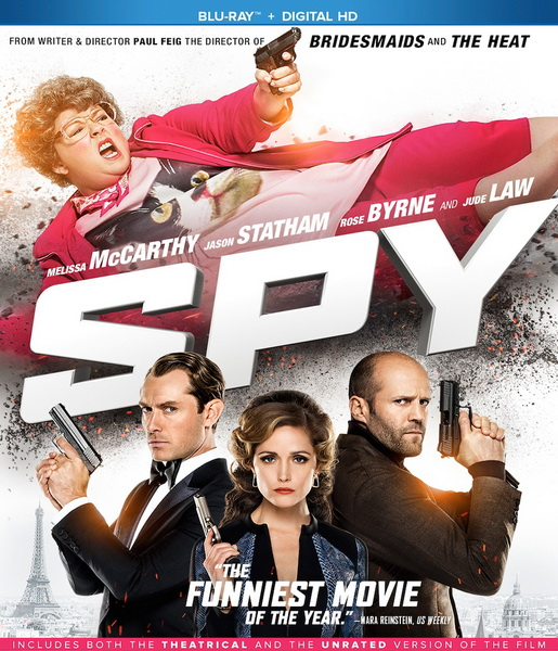 ����� (����������� ������) / Spy [UNRATED] (2015/BDRip/ ...