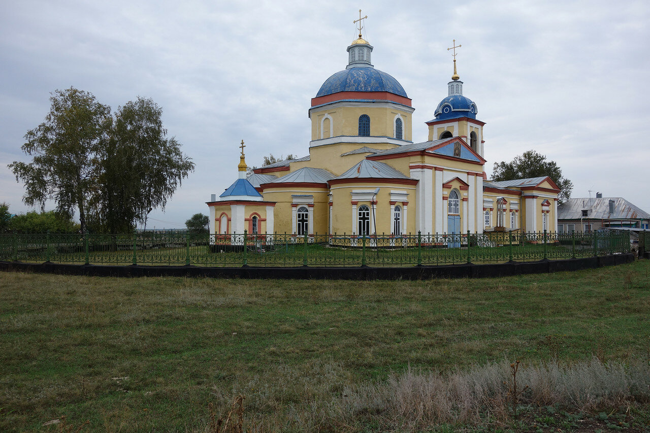 храм в селе Княжая Байгора