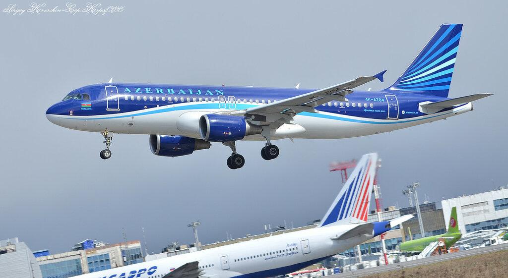 Azerbaijan Airlines Airbus A320-214 4K-AZ84