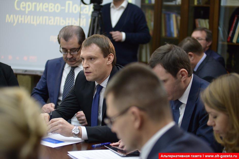Пахомов рассказал  Воробьеву о перспективах района