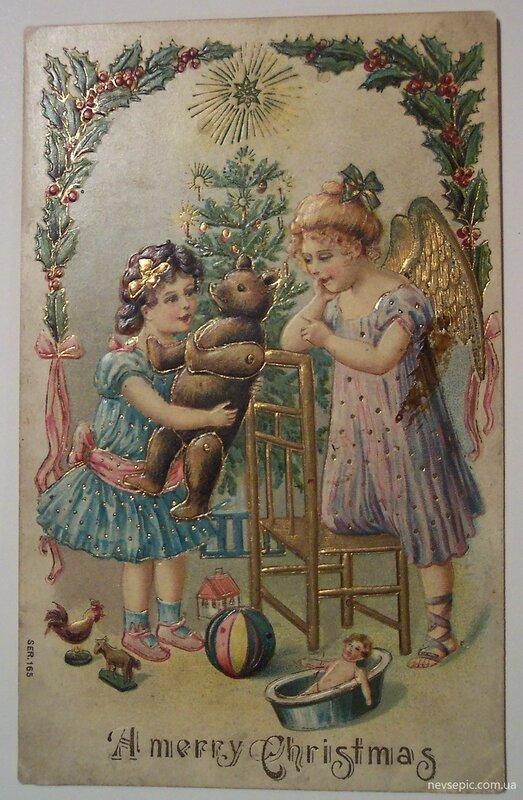 Старинные западные открытки, знаков зодиаков надписями
