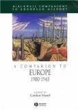 Журнал A Companion to Europe 1900-1945