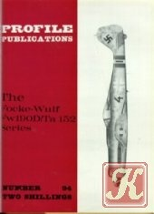 Книга The Focke-Wulf Fw 190D / Ta 152 Series (Profile Publications Number 94)