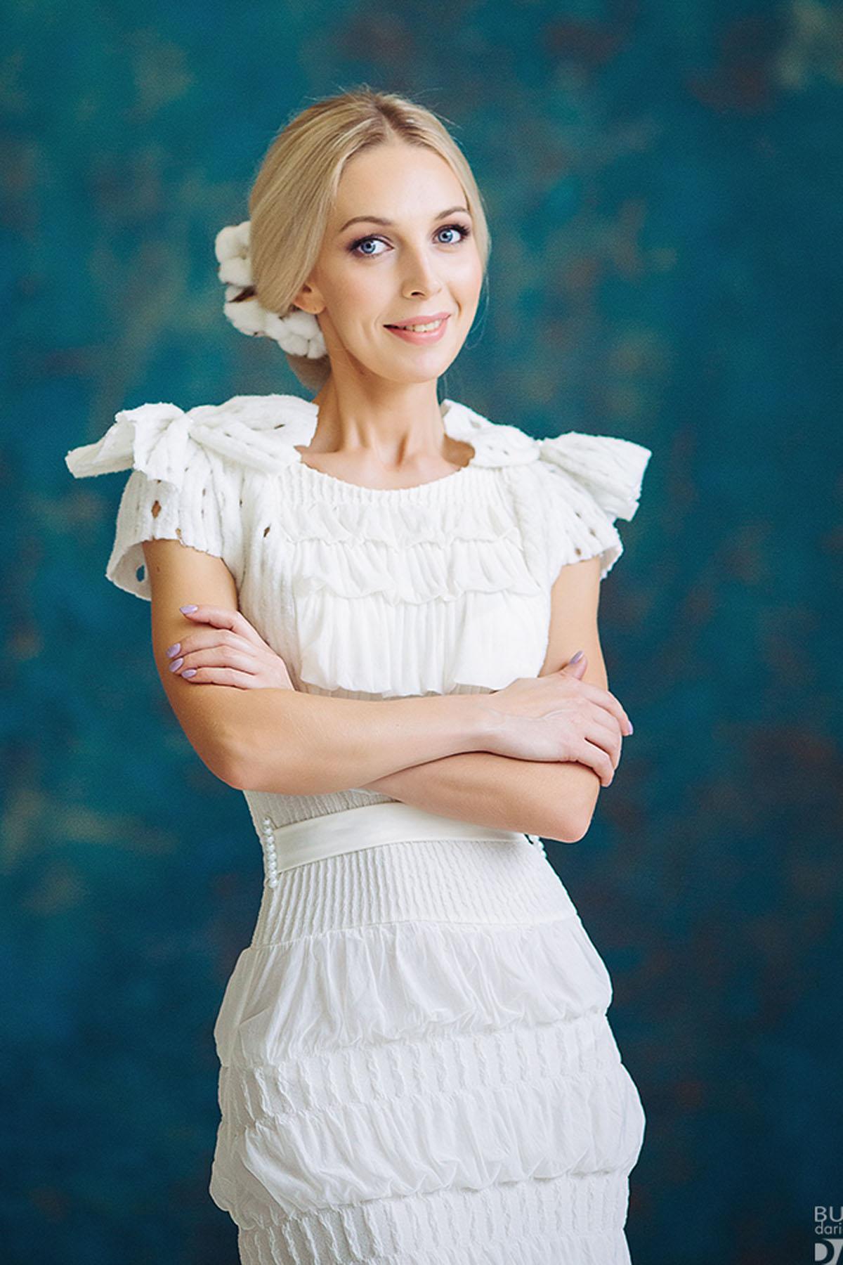 свадебное короткое платье