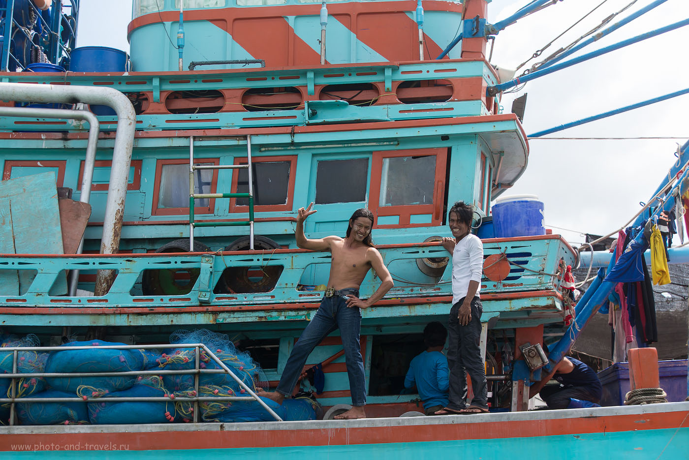 Фотография 11. Отдых в Таиланде самостоятельно. Отзывы туристов о поездке в рыбацкую деревню. Заряд хорошего настроения (320, 70, 4.5, 1/1250)