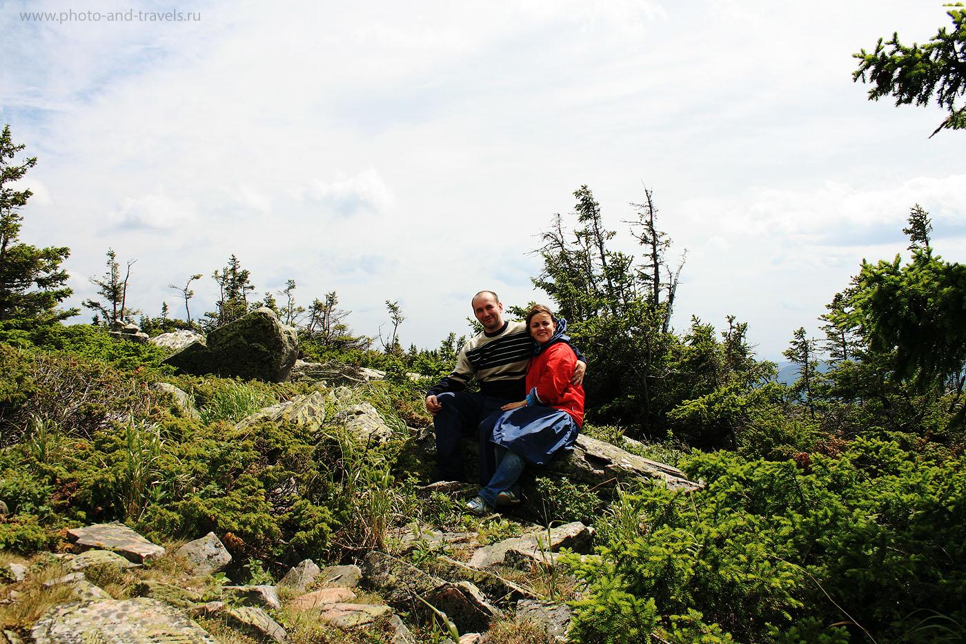 18. На склонах горы Круглица - лесотундра. Парк Таганай в Челябинской области