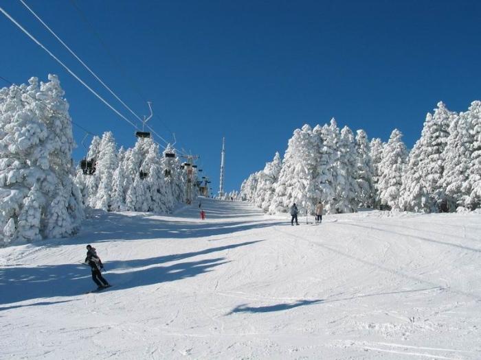Сарыкамыш горнолыжный курорт