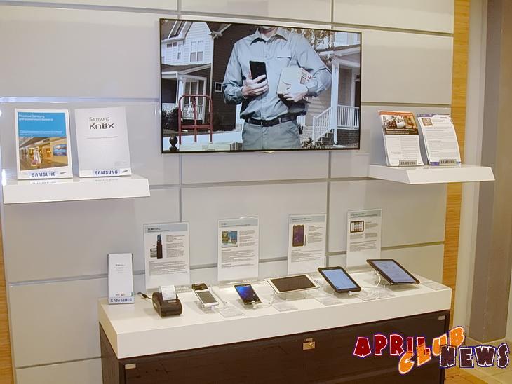 Открытие b2b-отделов Samsung Electronics