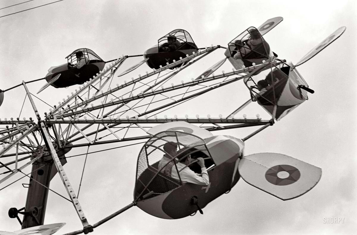 Самолеты и пилоты начала 20-го века на снимках американских фотографов (49)
