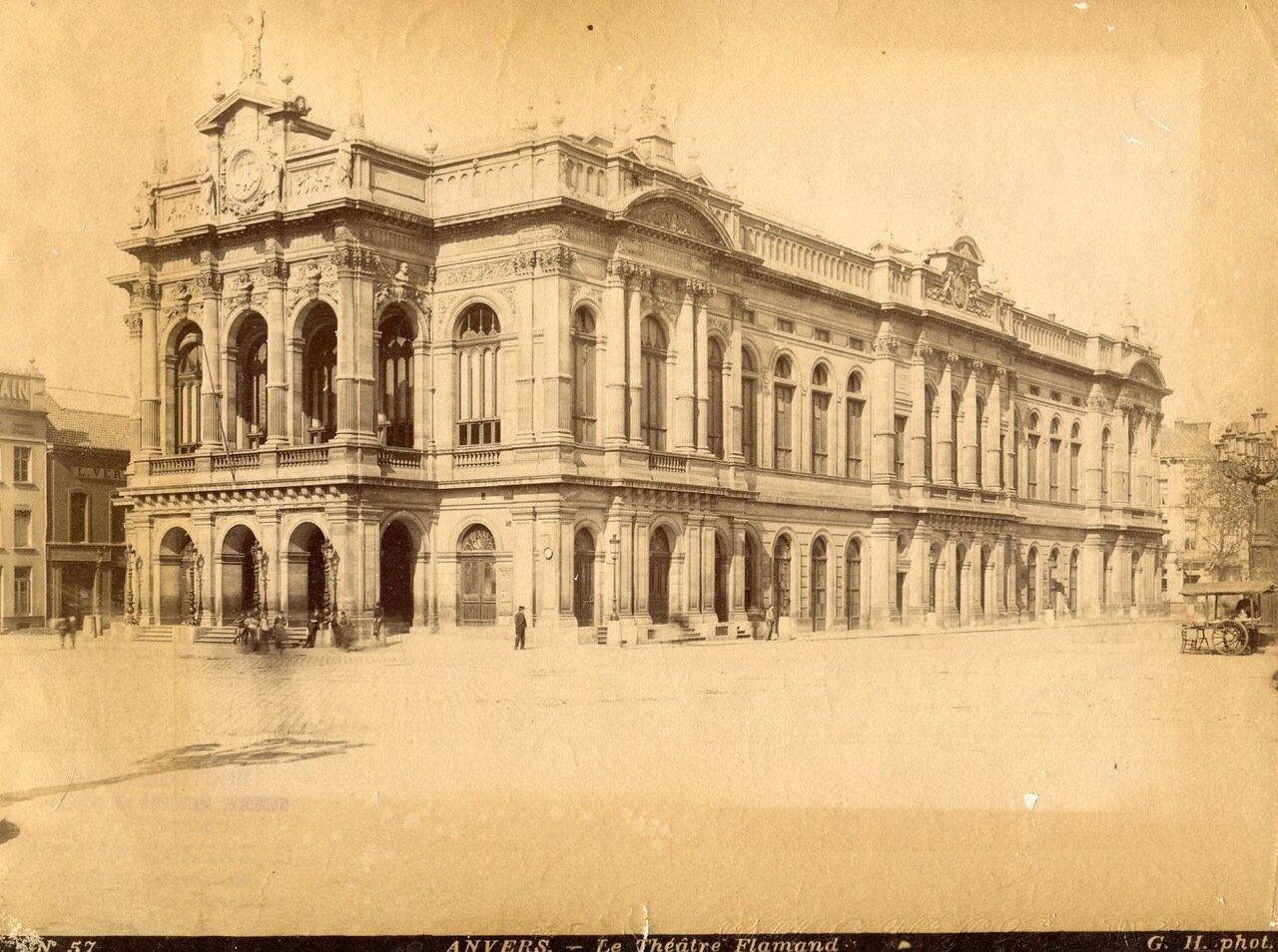 1880-е. Фламандский театр