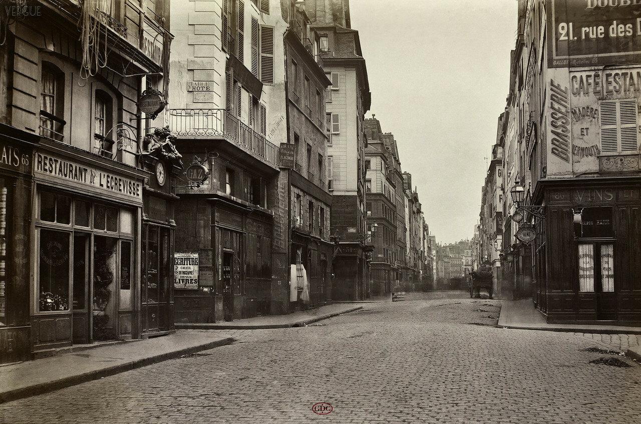 Рю Монмартр. 1868