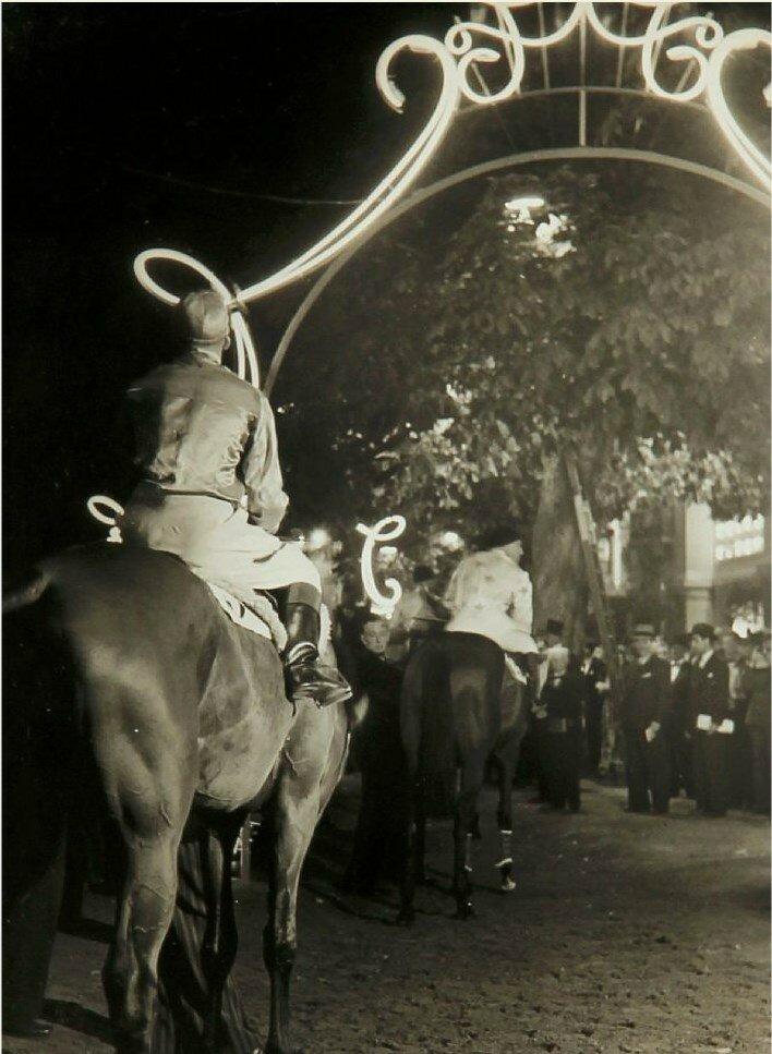 1936-1938. Прелюдия к скачкам