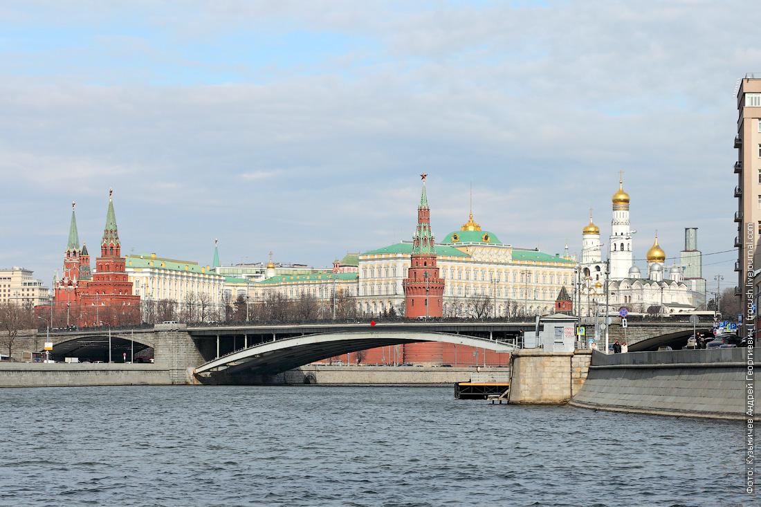 Большой Каменный мост, Московский Кремль
