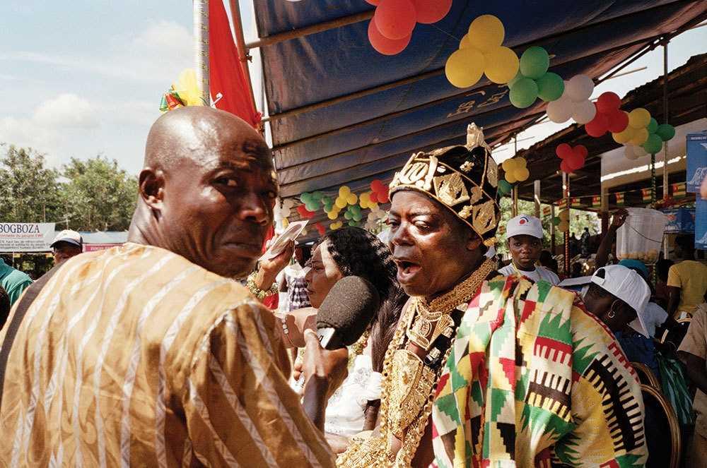 Тогбе Нгорифия Кифа Коси Банса - верховный правитель территории Хохо в Гане. 0_177613_a8cb3bf8_orig