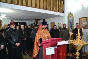 Adunarea preoților în satul Hitrești