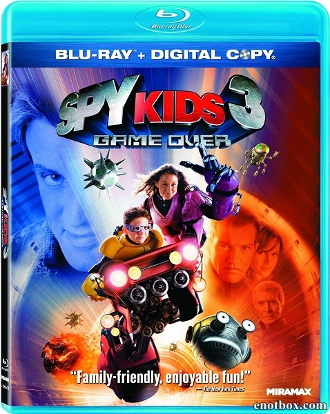 Дети шпионов 3: Игра окончена / Spy Kids 3-D: Game Over (2003/BDRip/HDRip)