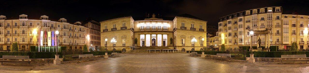 Vitoria-Gasteiz. The provincial square (Plaza de la Provincia). Panorama