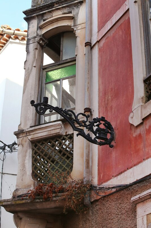 Leiria. Old town