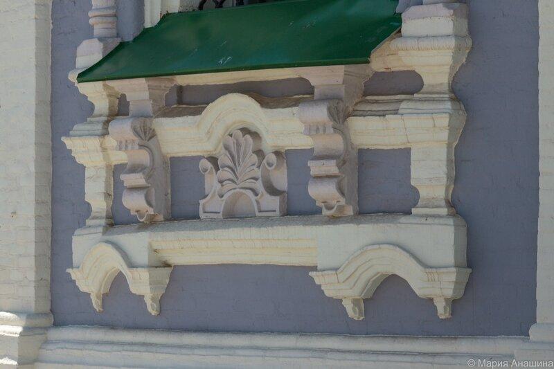 Успенский собор, фрагмент