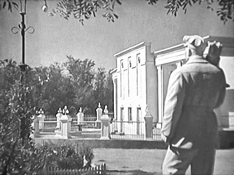 Летний кинотеатр в Старом парке