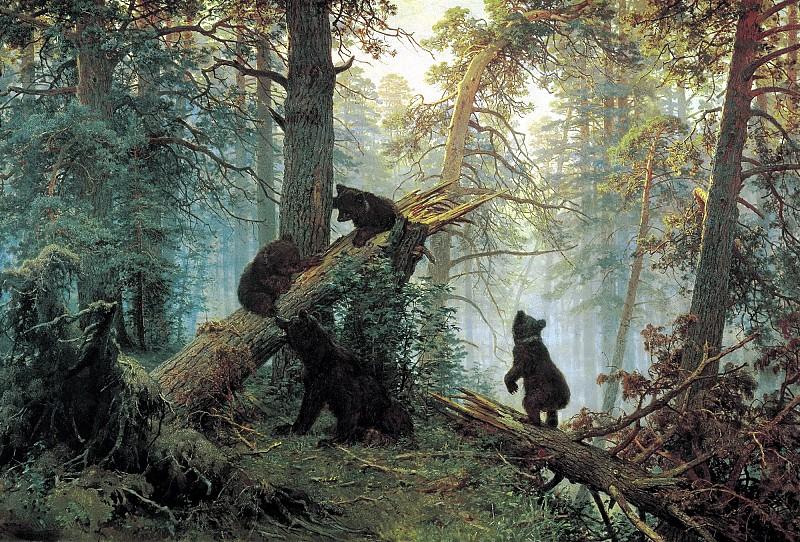 462356567.jpg.Утро в сосновом лесу.jpg