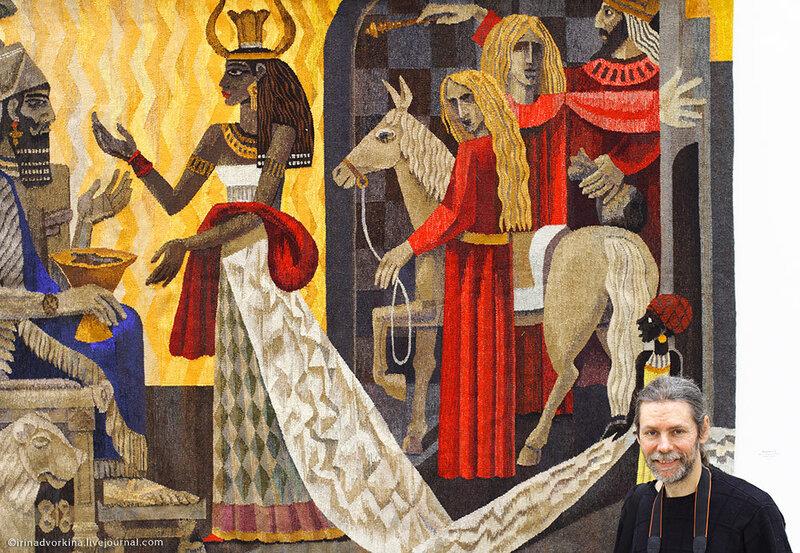 Андрей Мадекин «Встреча Соломона и царицы Савской»