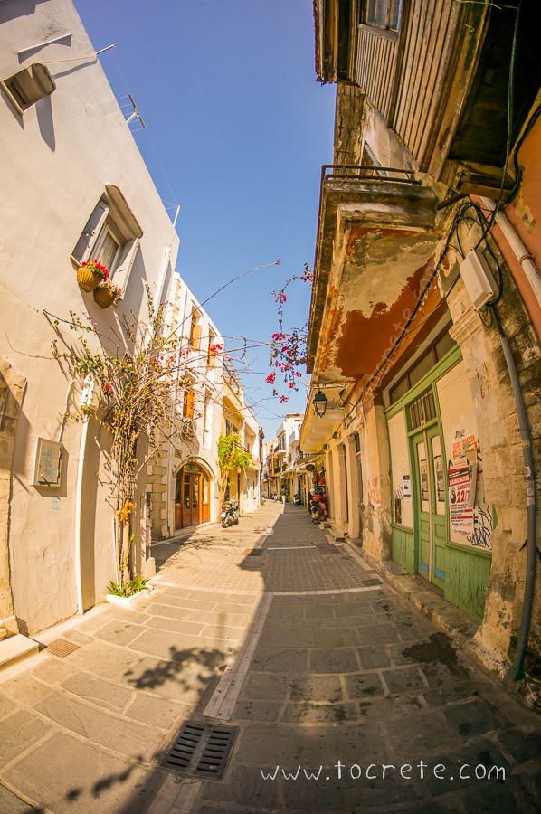 Улочки Ретимно | Streets in Rethimno