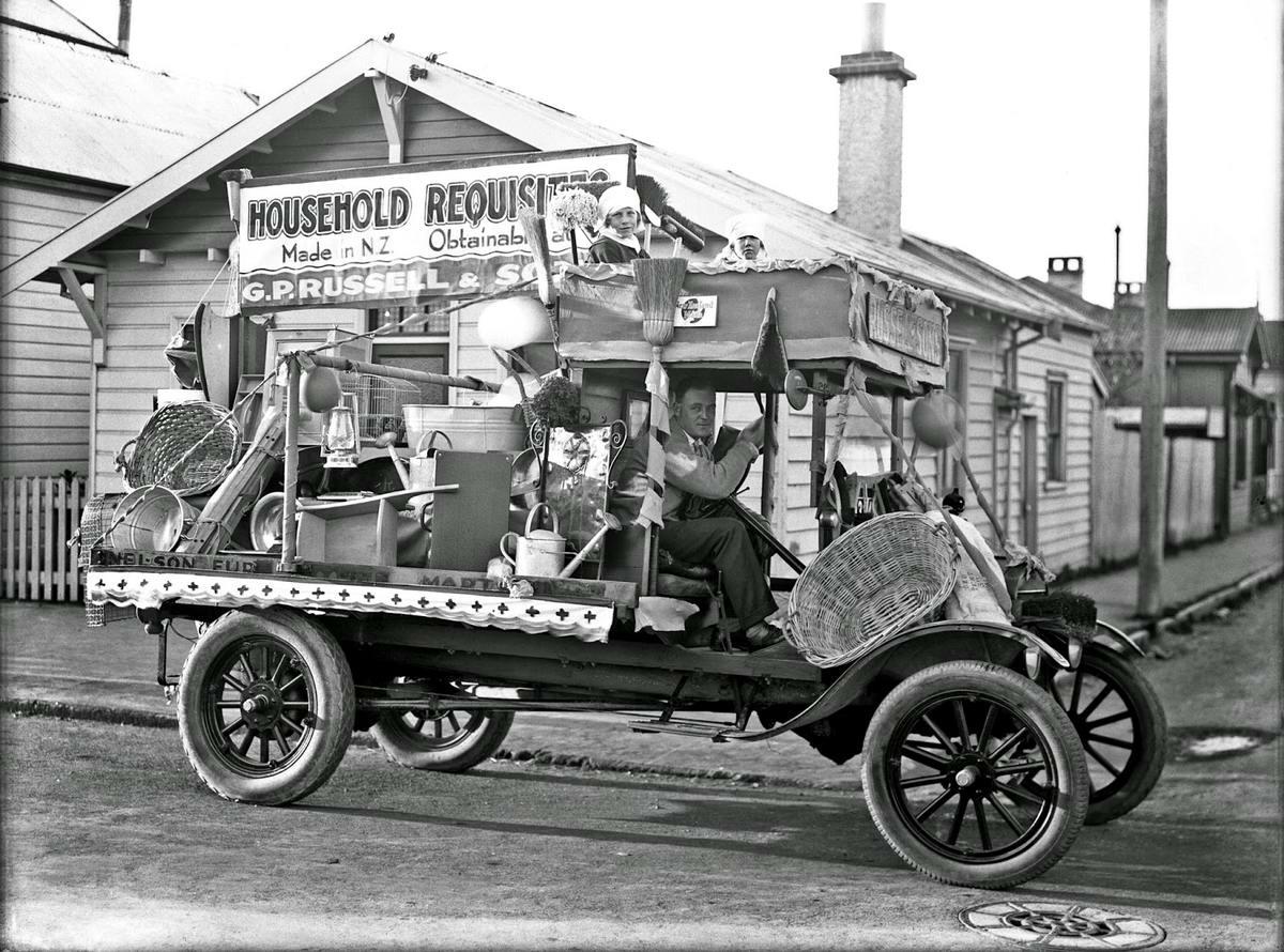 Специализированные транспортные средства начала 20-го века на снимках американских фотографов (26)