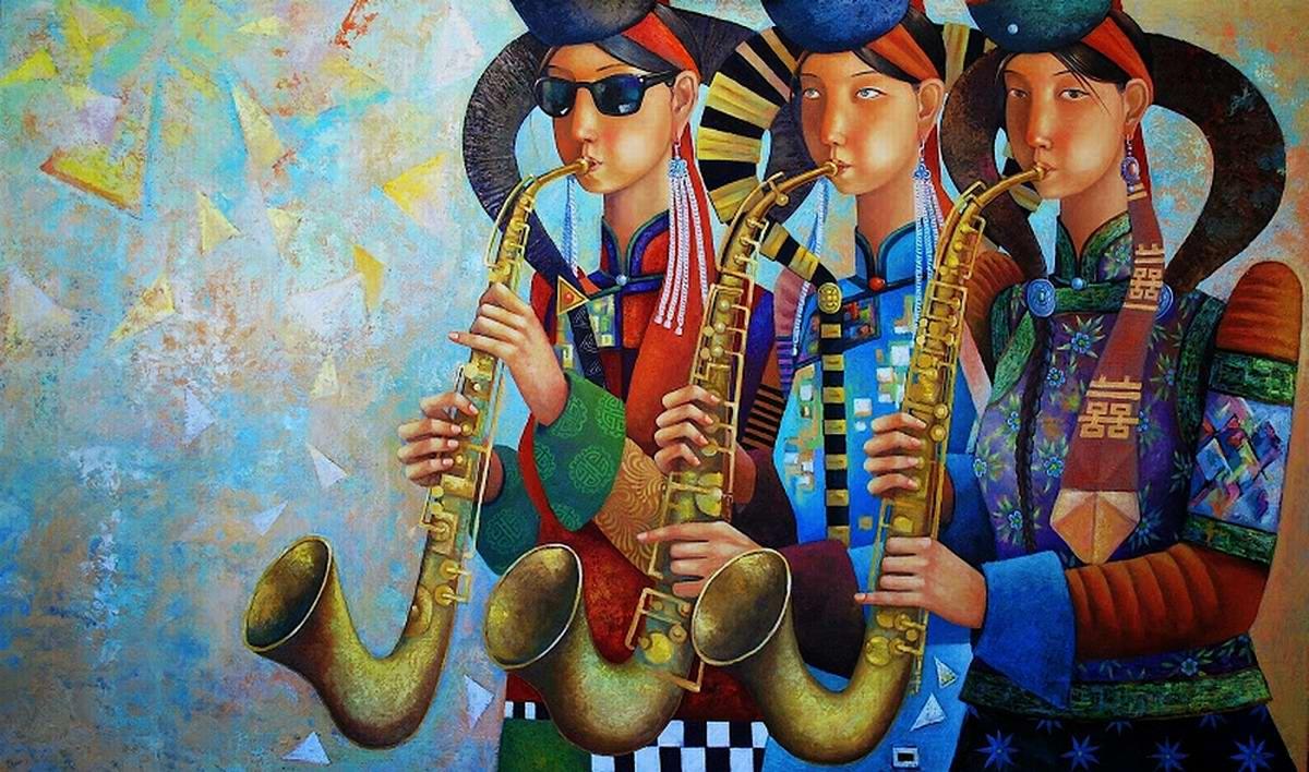 Сестры - саксофонистки