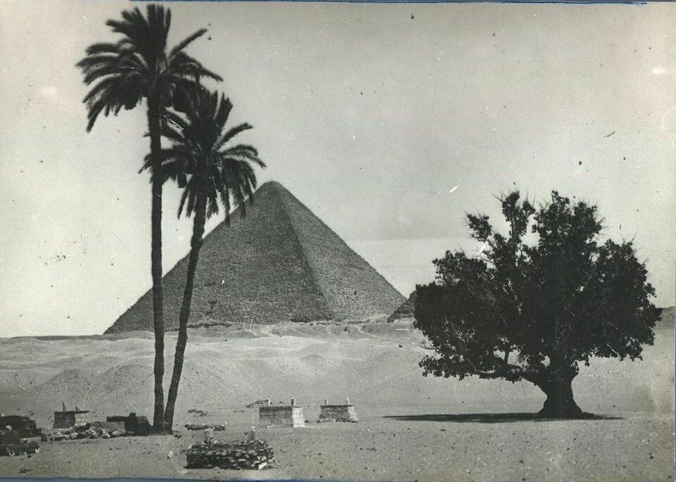 Великая пирамида Хеопса 1918