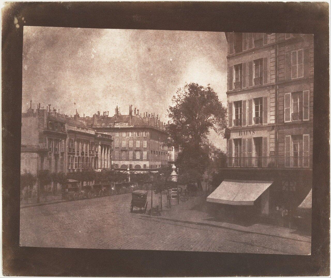 1843. Парижские бульвары