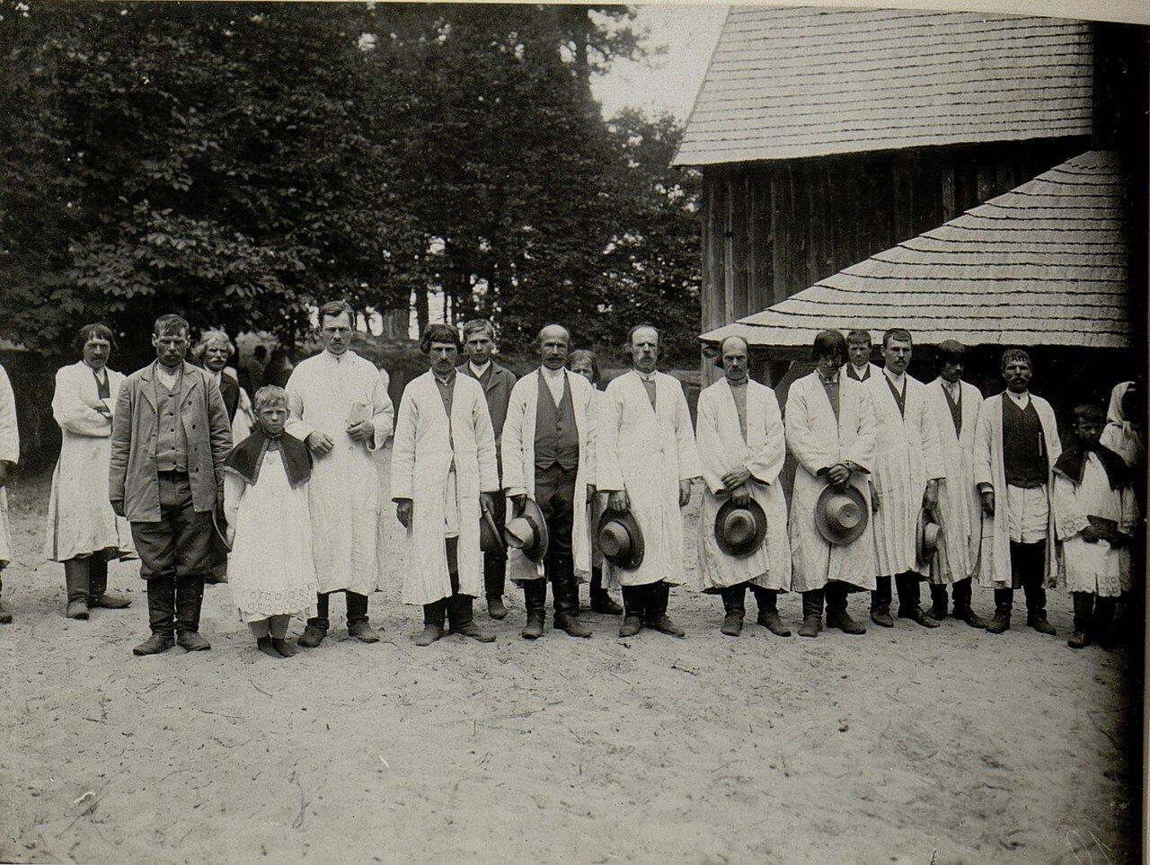 Народные типы в Доброполье (Черниговская губерния)