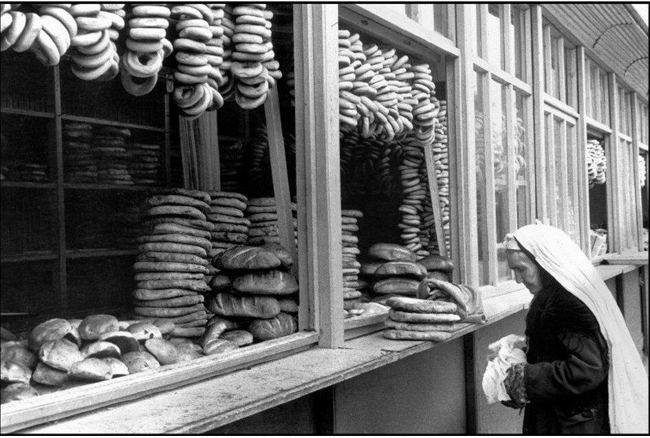 1972. Узбекистан. Самарканд. Булочная