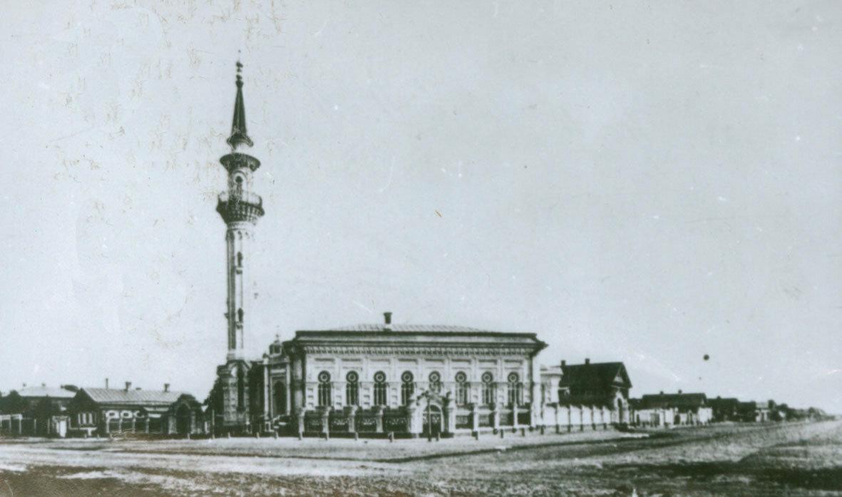 Здание Азимовской мечети